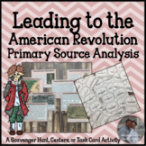 American Revolution 1 Primary Source Analysis Task Card Re
