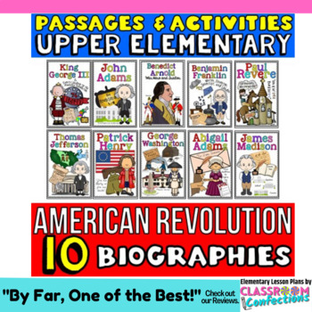 American Revolution: Biographies Reading Passages: Revolutionary War