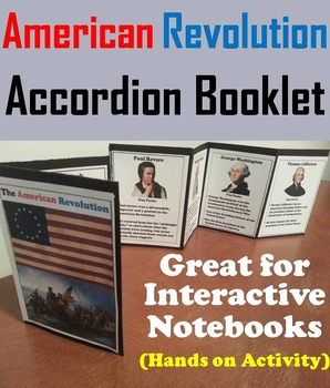 American Revolution Activity: George Washington, The Constitution etc
