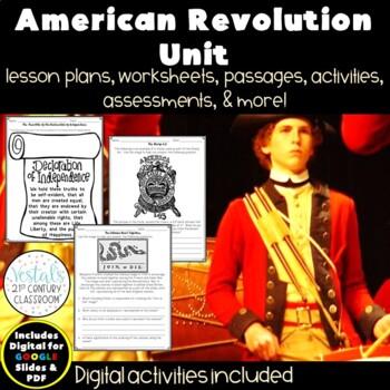 American Revolution {Digital & PDF Included}