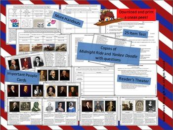 American Revolution Notebook, Bulletin Board Set & More