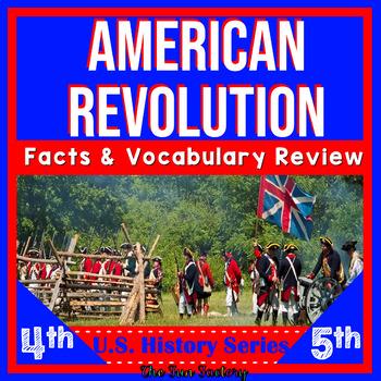 American Revolution Activities -The Revolutionary War, U.S. History 4th & 5th
