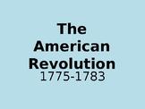 American Revolution - 5Ws Presentation