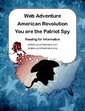 American Revolution-A Webquest Adventure for Grades 4-8