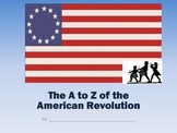 American Revolution A to Z Book