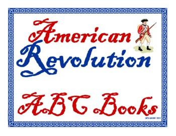 American Revolution ABC Book Project for Grades 3-8