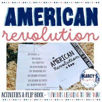 American Revolution Project Flip book
