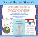 American Revolution Activity Stations