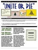"American Revolution Activity - ""Unite or Die"""