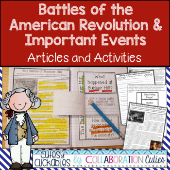 American Revolution Articles and Activities for Important