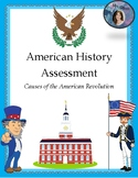 American Revolution Assessment - 4th and 5th Grade Louisiana