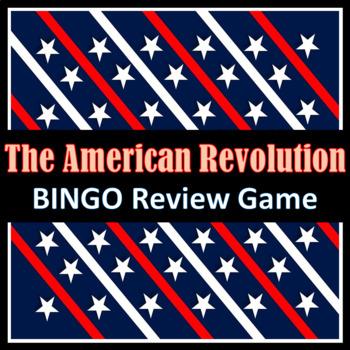 American Revolution BINGO Review Game