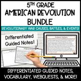 American Revolution BUNDLE   Digital Activities