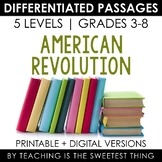 American Revolution Differentiated Passages Bundle