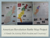 American Revolution Battle Map Project