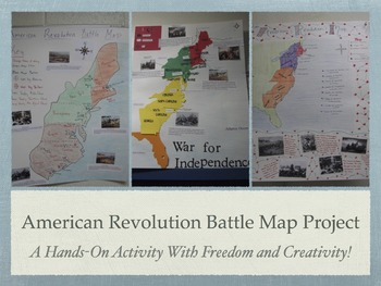 American Revolution Battle Map Project