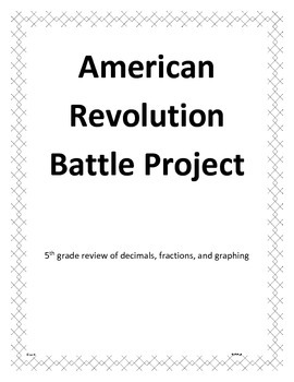 American Revolution Battle Project