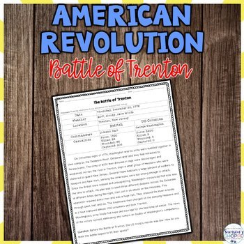 American Revolution - Battle of Trenton