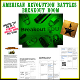 American Revolution Battles BreakOut Room