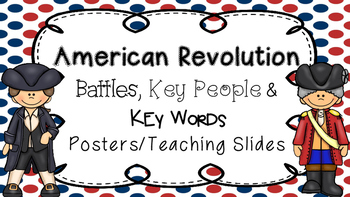 American Revolution: Battles, People, and Terms Posters, T
