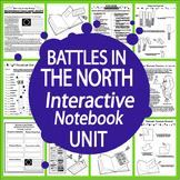 American Revolution Battles in the North Interactive Notebook Unit