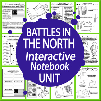American Revolution Battles in the North Interactive Noteb