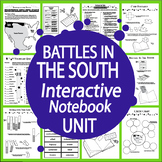 American Revolution Battles in the South Interactive Notebook Unit