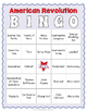 American Revolution BINGO - US History Game