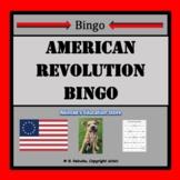American Revolution Vocabulary Bingo (30 pre-made cards!)