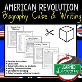 American Revolution Activity Biography Cube, Writing