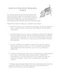 American Revolution Biography Project
