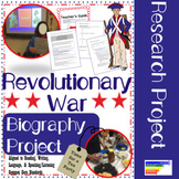 American Revolution Historical Figures Research Project