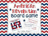 American Revolution Board Game & Unit Test Prep