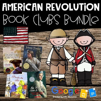 American Revolution Book Clubs Bundle