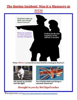 American Revolution - Boston Massacre