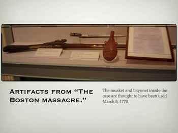 American Revolution- Boston Massacre QT Slideshow & Movie