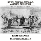 American Revolution: British Political Cartoons