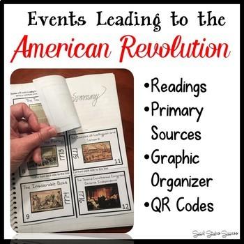 American Revolution Bundle of Activities