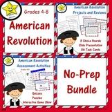 American Revolution No-Prep Bundle