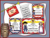 American Revolution Bundle Battle Story Board I Have Who H