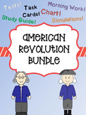American Revolution Bundle (Causes, Major Battles, and People)