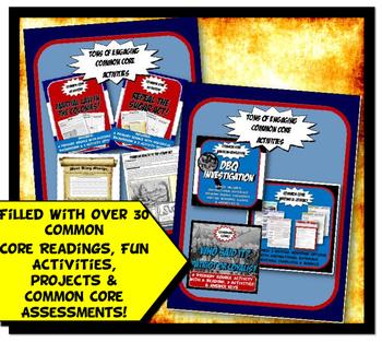 American Revolution Complete Unit Bundle Grades 6, 7 and 8
