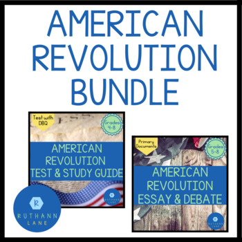 American Revolution Bundle Pack