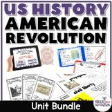 American Revolution Bundle (TEKS Aligned)