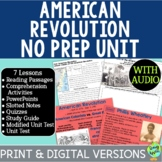 American Revolution Bundle, US Revolutionary War