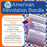 American Revolution Bundle – Upper Elementary – No Prep, P