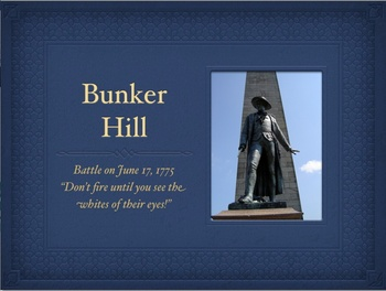 American Revolution Bunker Hill QT Slideshow
