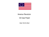 American Revolution CD Case Project