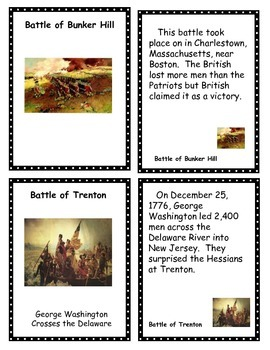 American Revolution Card Games (Old Maid, Concentration and Go Fish)