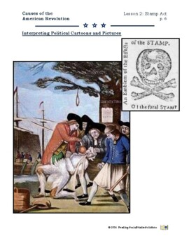 American Revolution - Causes Lesson 2 - Stamp Act